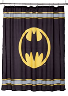 Merveilleux Batman Logo Microfiber Shower Curtain, 72 Inch By 72 Inch