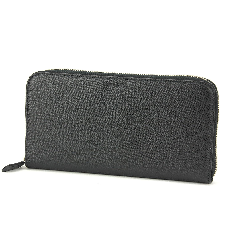 プラダ(PRADA) 2ML317 PN9 F0002 長財布(ラウンドファスナー) ブラック 黒 NERO(ネロ)[並行輸入品] B018I7MAFE