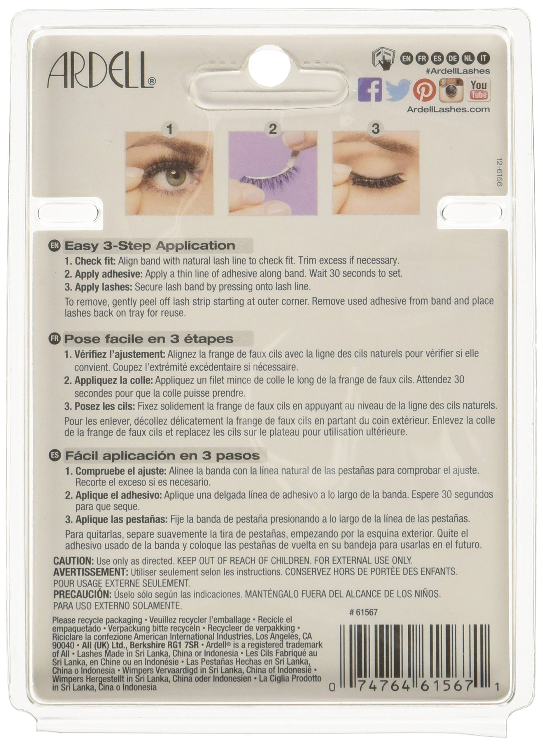 Ardell Multipack 110 Lashes, 0.06 Pound by Ardell (Image #2)