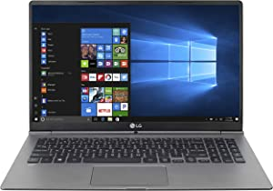 "LG gram Thin and Light Laptop - 15.6"" Full HD IPS Display, Intel Core I5 (7th Gen), 8GB RAM, 256GB SSD, Back-lit kbd - Dark Silver - 15Z970"