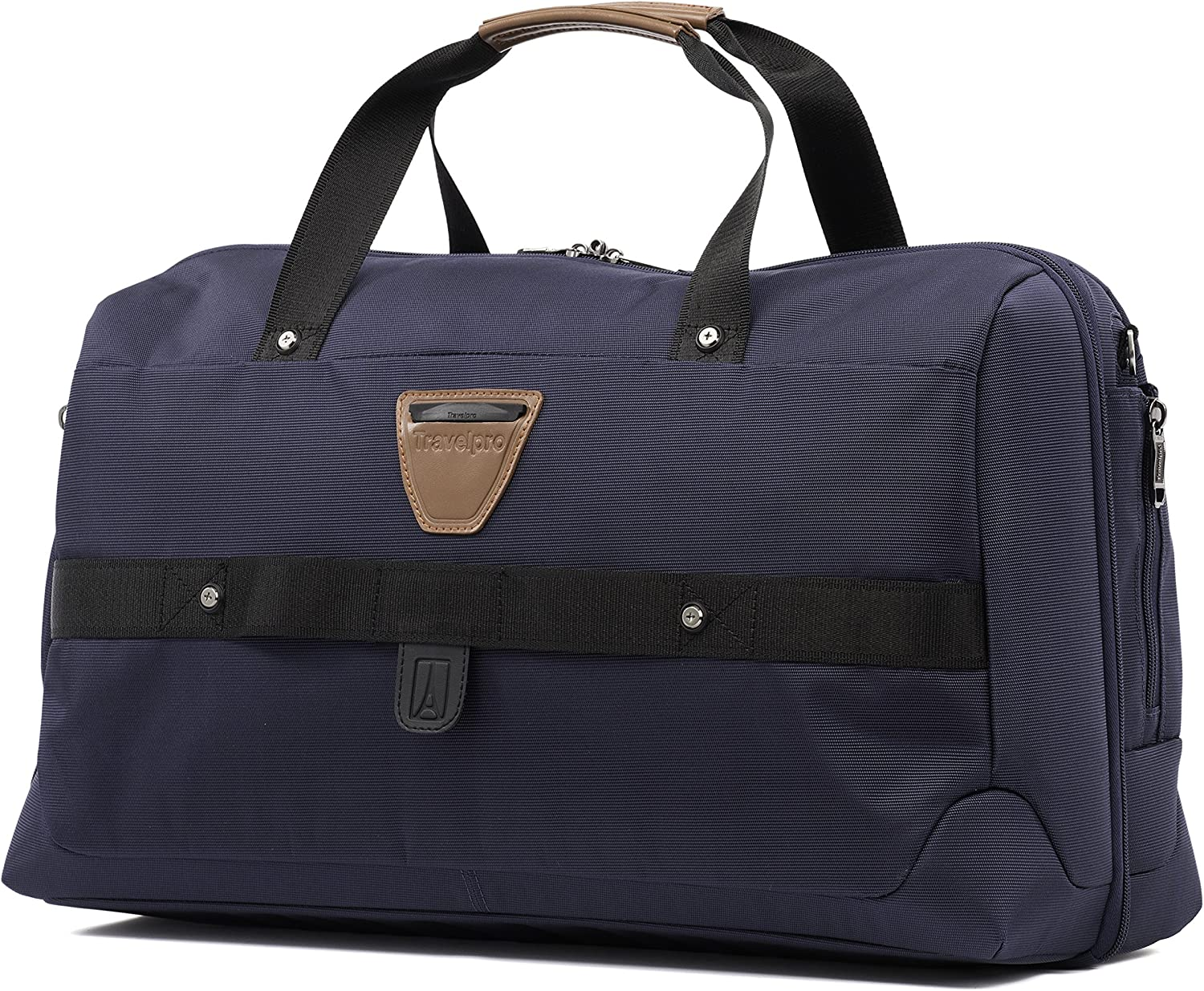 Travelpro Crew 11-Smart Carry-On Suiter Duffel Bag with USB Port Mahogany Brown