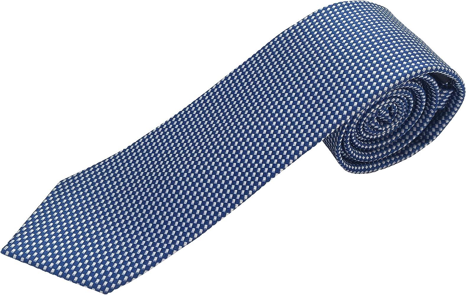 Corbata azul, fabricada a mano, 100% seda, el epítome del lujo en ...