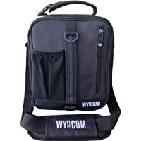 WYACOM Insulated Lunch Box Bag with Innovative Bottle Holder Expandable Lunch Pack with Comfortable Shoulder Strap for Men, Women, Kids, Adults, Black