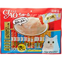 Ciao Tuna Bonito 40-Pieces Variety Pack, 560 g