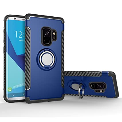 custodia con anello samsung s9 plus