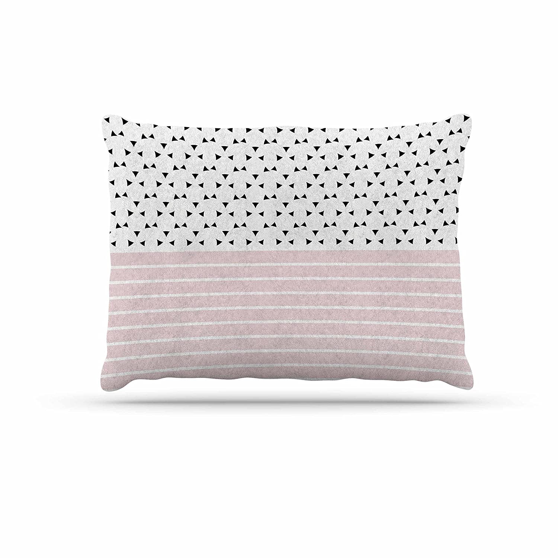 KESS InHouse Trebam Razni Pink Black Dog Bed, 50  x 40