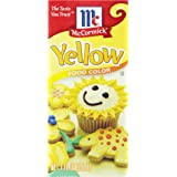 McCormick Yellow Color, 1 Fluid Ounce