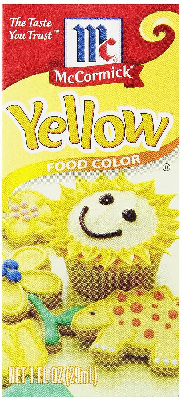 Amazon mccormick yellow color 1 fluid ounce prime pantry nvjuhfo Choice Image