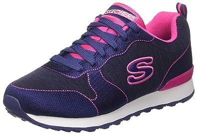 Skechers Damen OG 85-Quick S Sneakers Navy/Pink