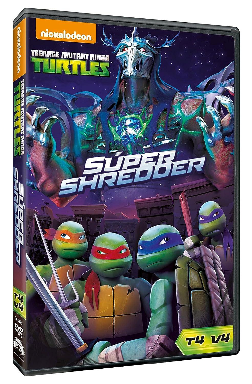 Las Tortugas Ninja 4.4: Super Shredder [DVD]: Amazon.es ...
