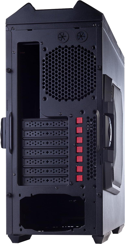 HIDITEC Caja SEMITORRE XZ1 Extreme SIN Fuente DE ALIMENTACION 520mm x 540mm x 210mm: Amazon.es: Informática