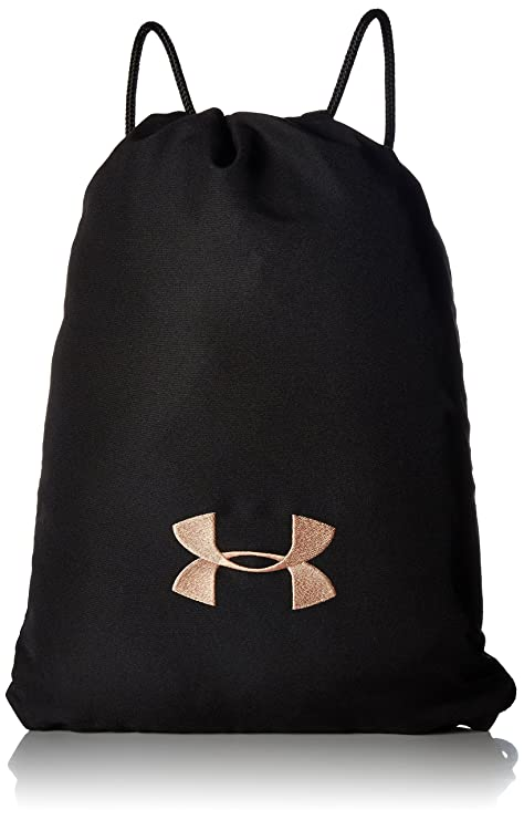 Amazon.com  Under Armour Ozsee Cupron Sackpack,Black (001) Black ... 88d1575151