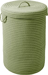 """product image for Simply Home Hamper w/lid - Moss Green 18""""x18""""x30"""""""