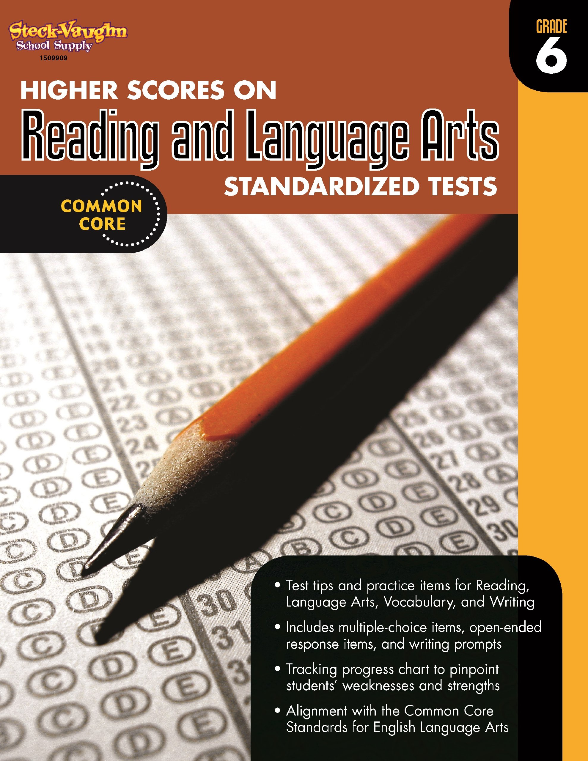 Higher Scores on Standardized Test for Reading & Language Arts: Reproducible Grade 6 by HOUGHTON MIFFLIN HARCOURT