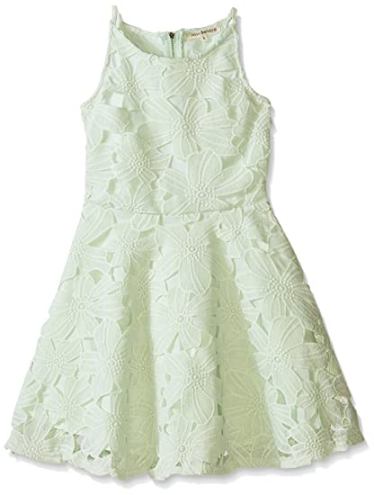 1cb123f11aae9 Amazon.com: Miss Behave Girls' Big Ilene Dress, Mint Small: Clothing
