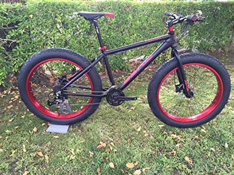 FAT BIKE BERG VOSTOK BLACK RED: Amazon.es: Deportes y aire libre