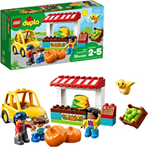 LEGO DUPLO Town Farmers' Market 10867 Building Blocks (26 Pieces)