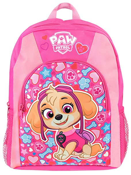 Amazon.com  Paw Patrol Girls Paw Patrol Skye Backpack  Clothing 8d67385670d21