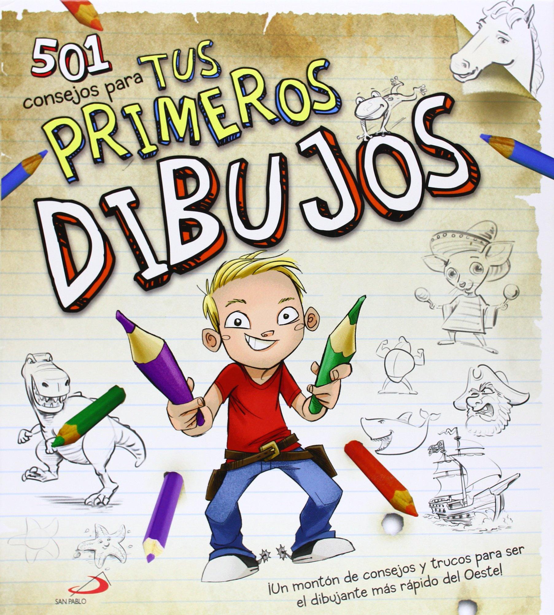 501 Consejos para tus primeros dibujos (Spanish) Hardcover – 2013