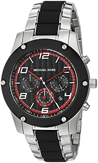 Michael Kors Reloj Up Me Analog Malla Sport CuarzoBatería Caine uKcTl1F35J