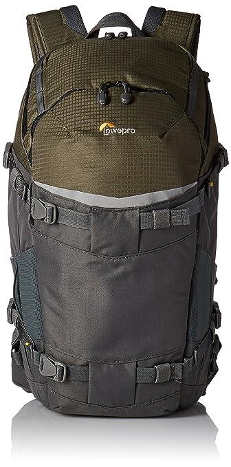 4 opinioni per Lowepro Flipside Trek BP 350AW Zaino per fotocamera, colore: grigio/verde scuro