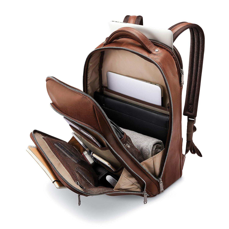 15.6 Black Model: 126037-1041 Samsonite Classic Leather Backpack