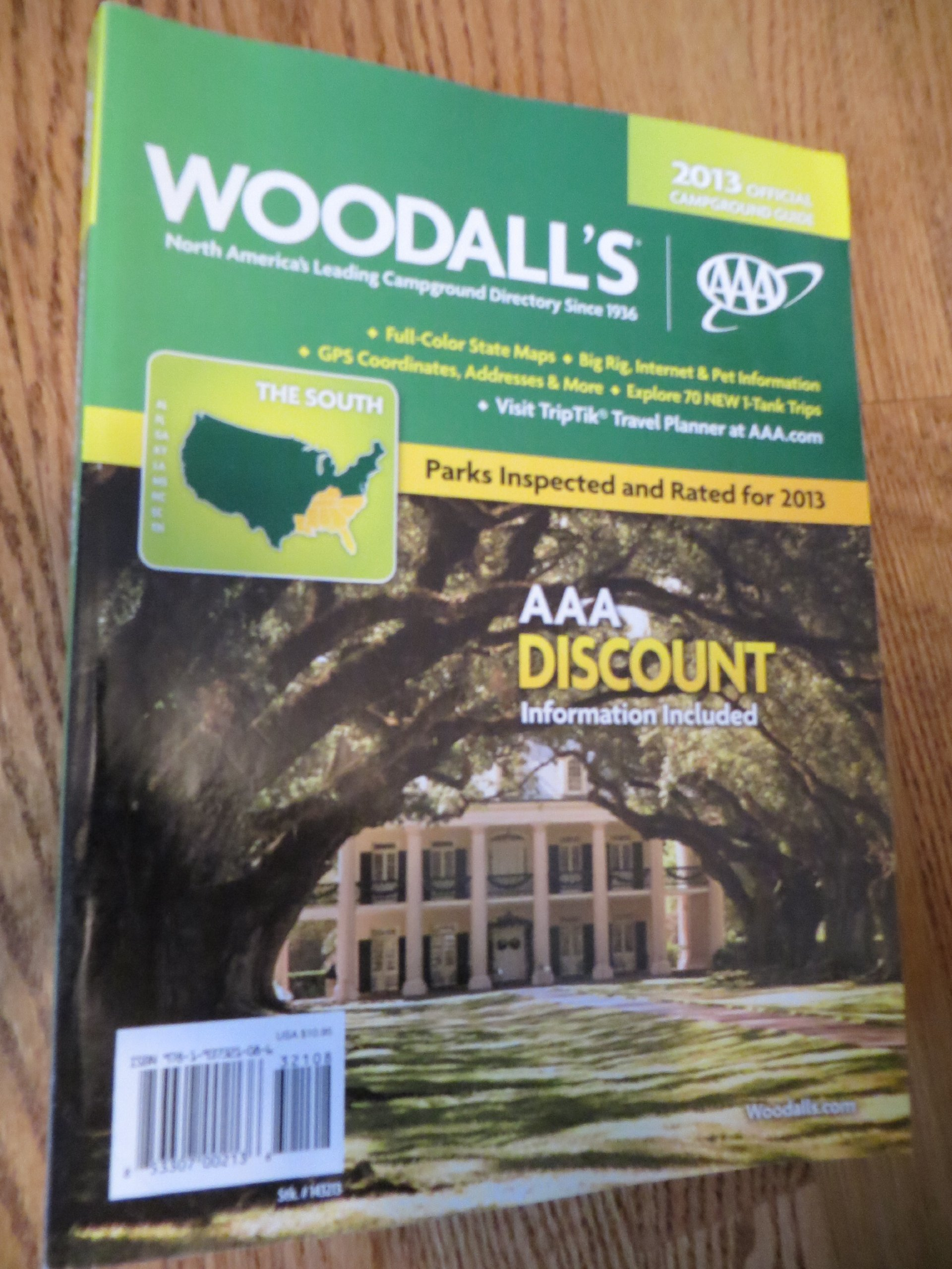 2013 Woodall's North American Campground Directory, the