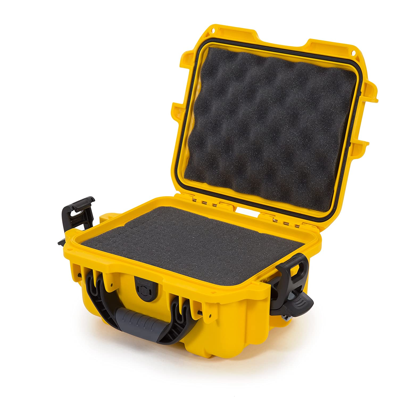 Nanuk 905 Waterproof Hard Case with Foam Insert - Yellow Plasticase Inc 905-1004
