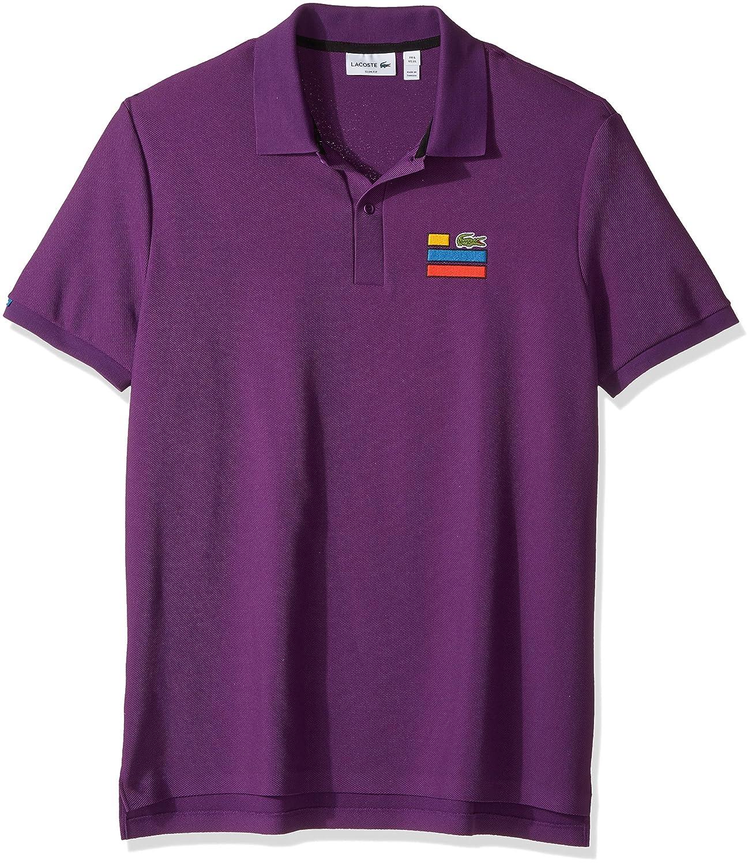 Lacoste SHIRT メンズ B01MY2LV6A XL|Cossak Purple Cossak Purple XL