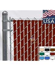 Fence Source Wave Slat™ - Single Wall Bottom Locking Chain Link Privacy Slat - 9 Colors
