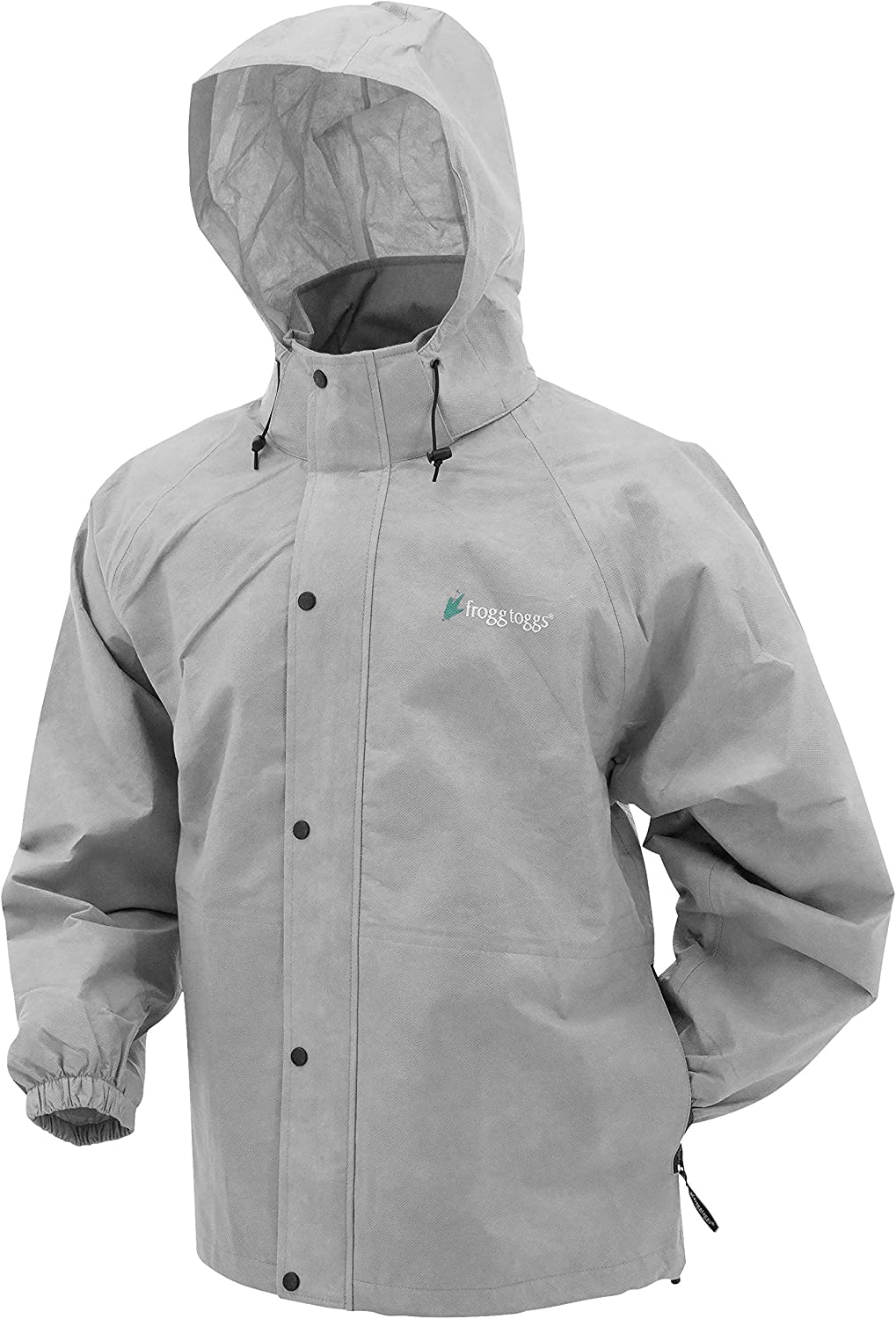 Frogg Toggs Mens Pro Action Gray Rain Jacket PA63123-07-2XL