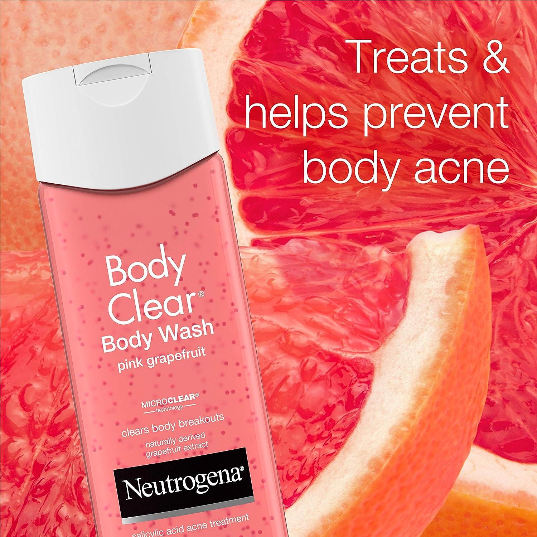 Amazon Com Neutrogena Body Clear Body Wash With Salicylic Acid