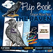 Poetry and Literature Guide Flip Book For The Raven, by Edgar Allan Poe