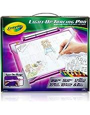 Crayola Light Up Tracing Pad Light Board, Pink