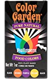 Color Garden Pure Natural Food Colors, Halloween Pack 5 ct