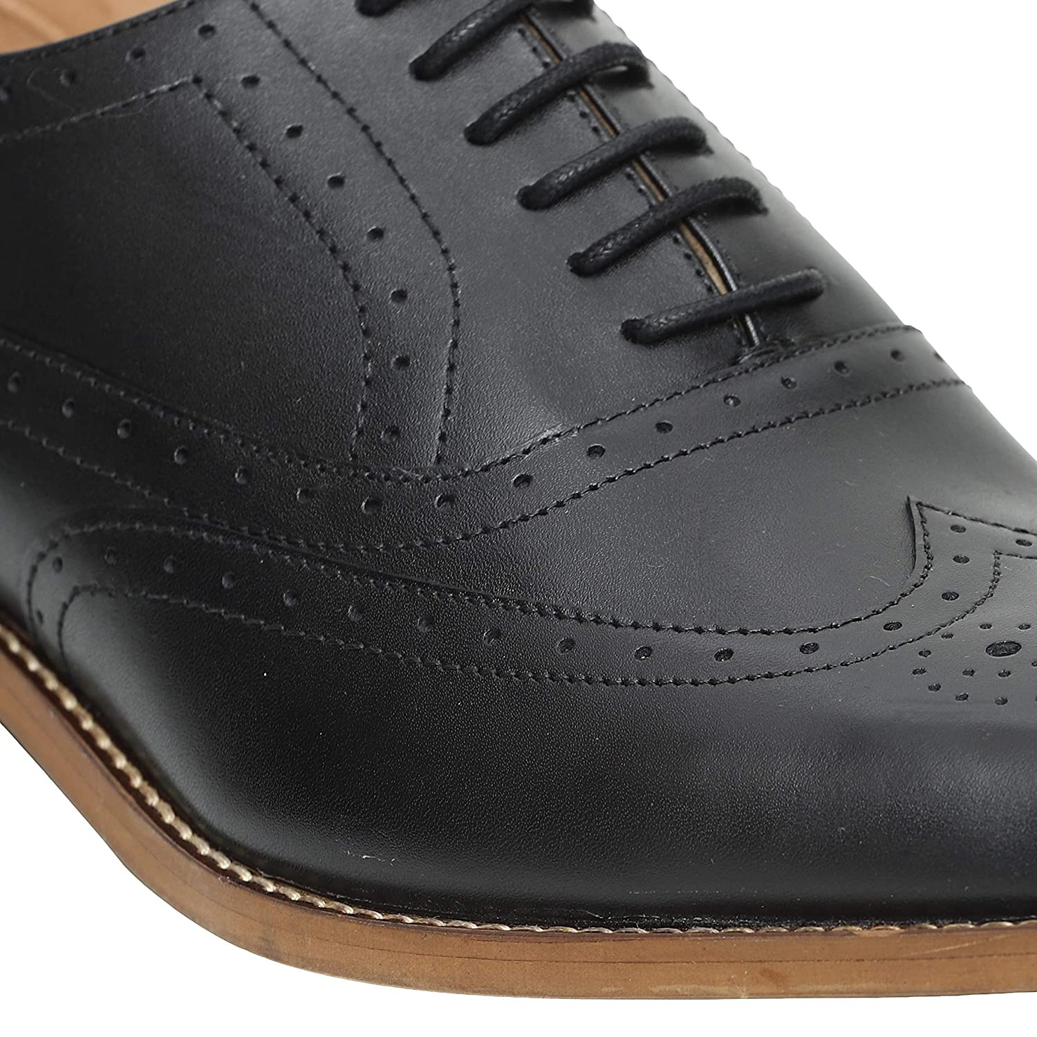 Amazon.com: Urbane Shoes Co - Zapatos de piel de vaca para ...