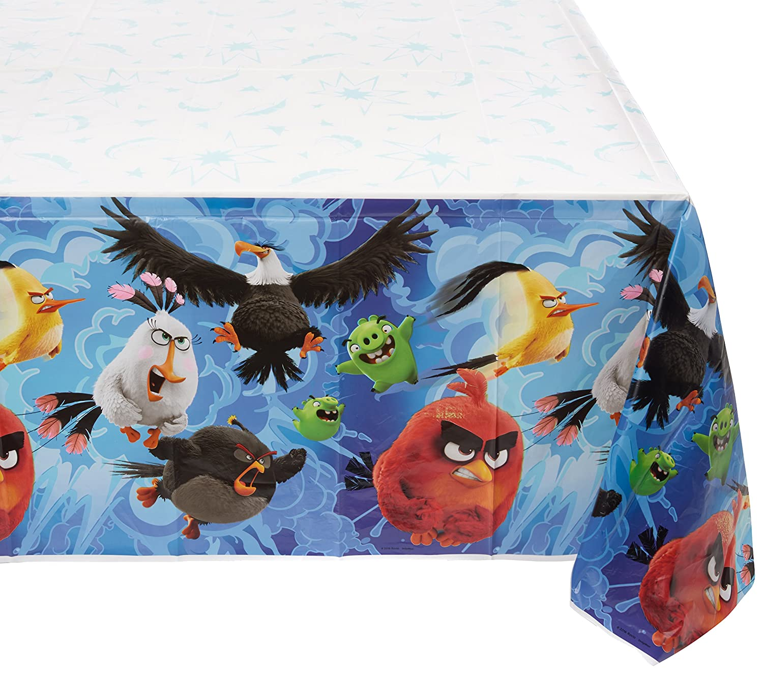 Amazon Com Amscan Party Table Decor Boy Angry Birds The Movie Table
