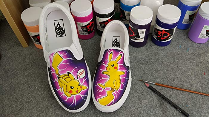 Amazon.com  Customize Vans Anime Shoes Hand Painted Shoes For Men Women  Free Shipping  Handmade a9cc97967