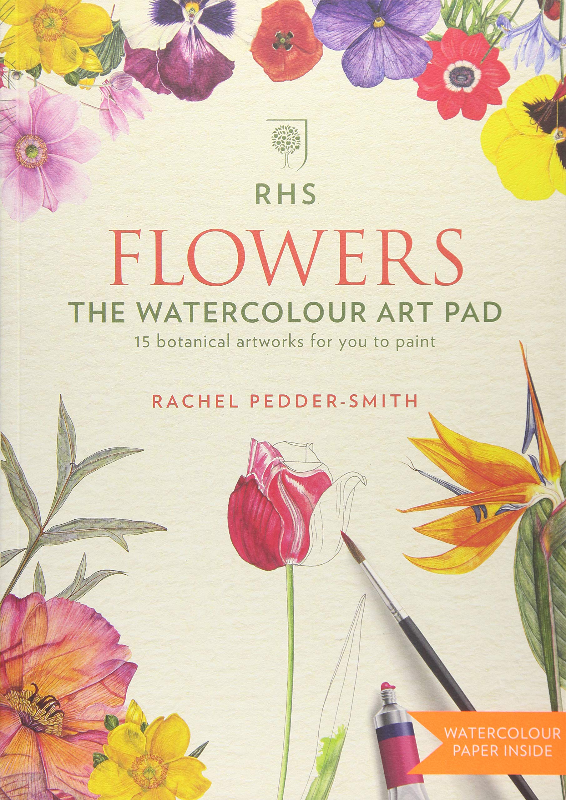 RHS Flowers the Watercolour Art Pad pdf