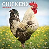 2018 Chickens Wall Calendar