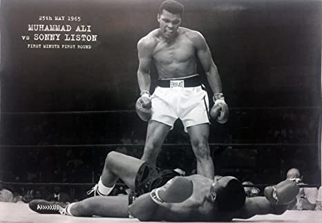Muhammad Ali Black And White Photo