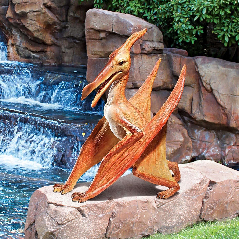 Amazon.com : Design Toscano Scaled Jurassic Pterodactyl Dinosaur Statue :  Patio, Lawn U0026 Garden