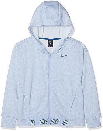 Bambina Nike G NK Dry Hoodie FZ Studio Giacca