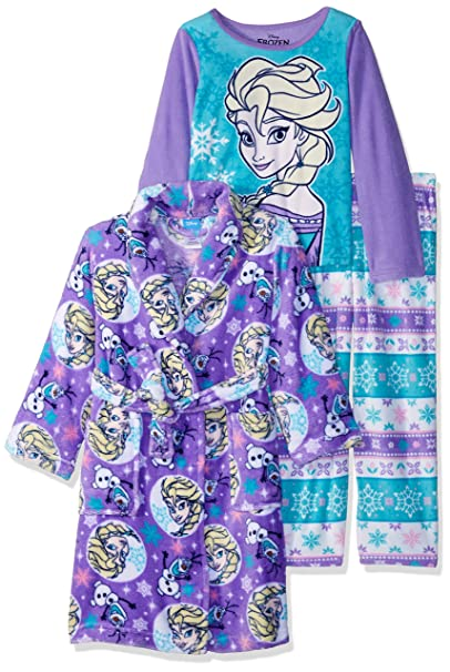 Amazon.com: Disney Girls Frozen – Juego de albornoz ...
