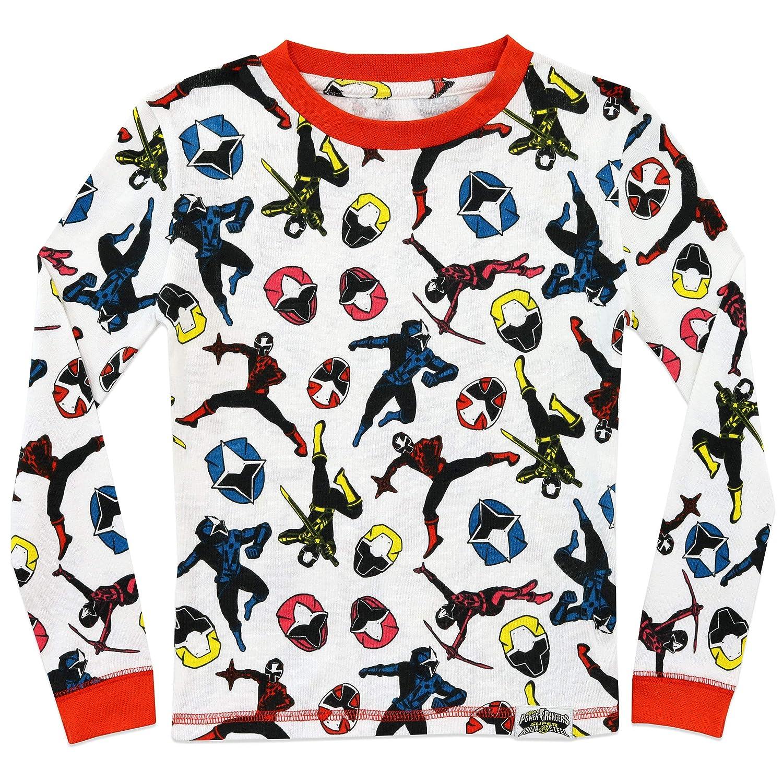 Power Rangers Jungen Ninja Steel Schlafanzug Slim Fit