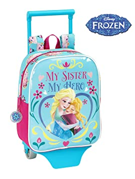 Frozen - Mochila guardería carro, 22 x 27 cm (Safta 611515280): Amazon.es: Equipaje