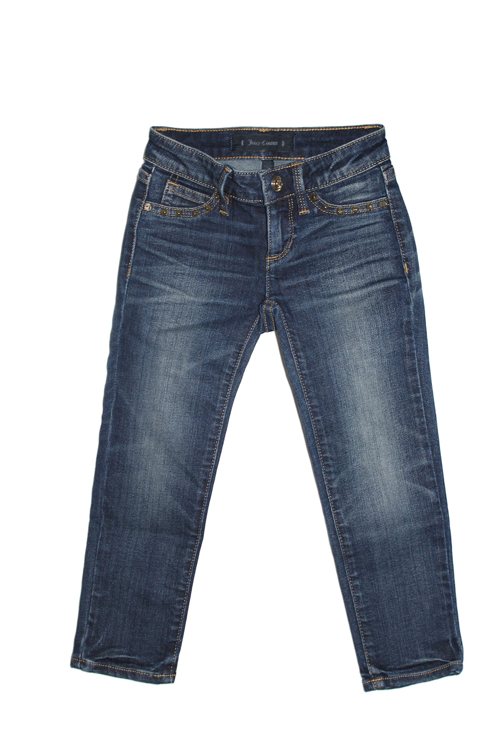 Juicy Couture Girls Skinny Jeans (12, Denim Wash)