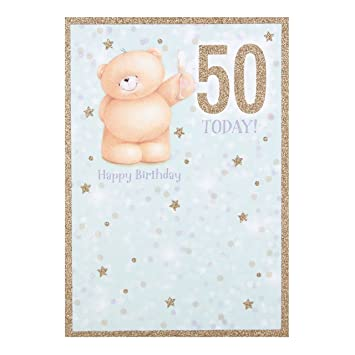 Hallmark Forever Friends 50th Birthday Card Youre Fabulous