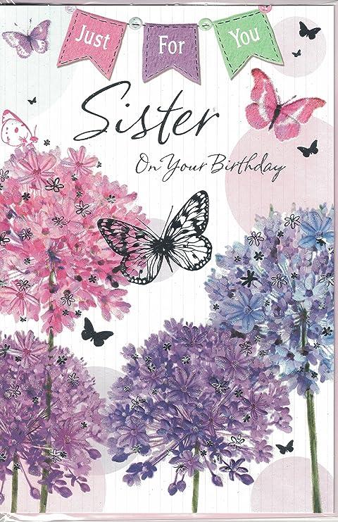 Tarjeta de cumpleaños~hermana para ti hermana por su ...