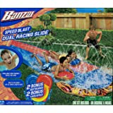 Speed Blast Dual Racing Slide Slip N Slide - 2 Bodyboards